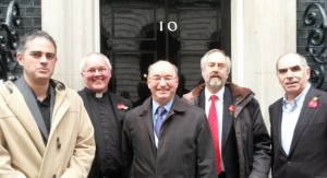 Religious figures meet with No 10 Policy Unit