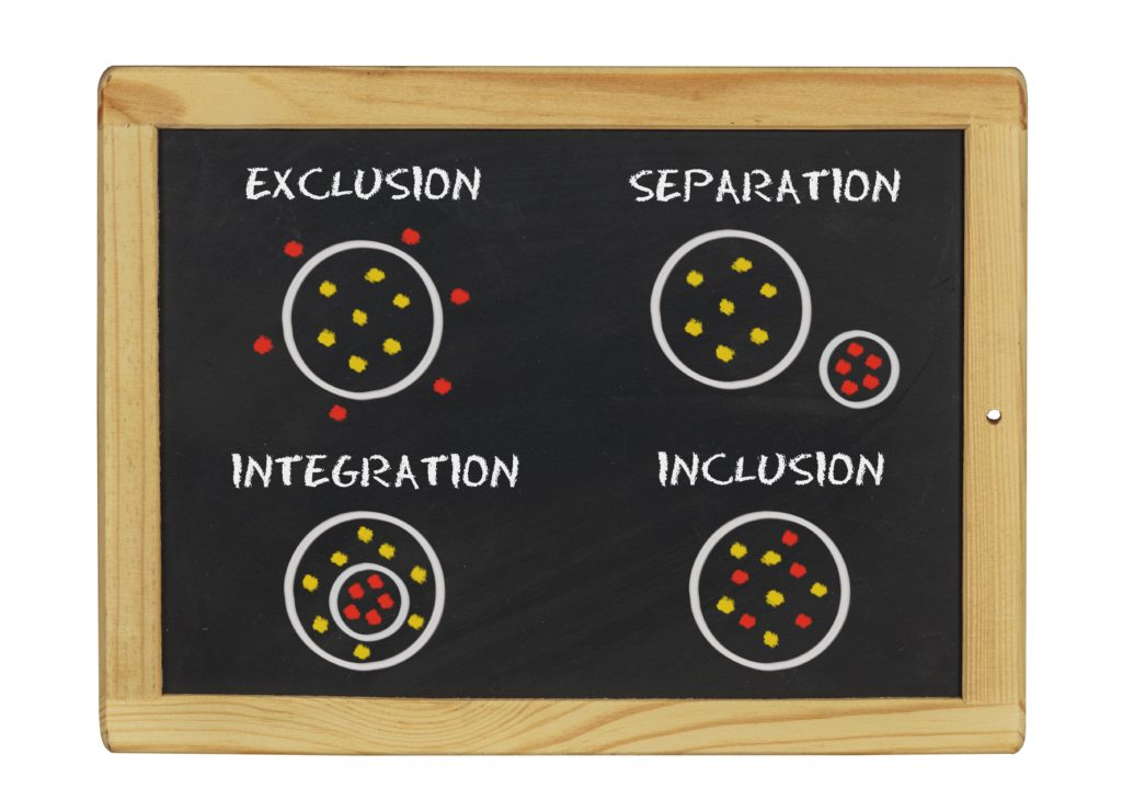 inclusion chalk board - huge